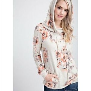 12PM by Mon Ami floral sweatshirt